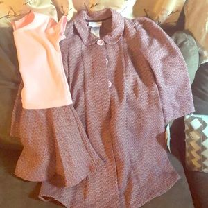 Bonnie Jean jacket with matching dress